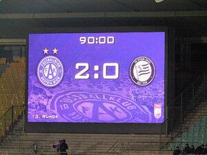 Zum dritten Mal in Folge in der Meisterschaft zu Null gespielt und zum vierten Mal in Serie gewonnen. Die Wiener Austria ist drauf und dran, weiter nach oben zu klettern. Foto: oepb
