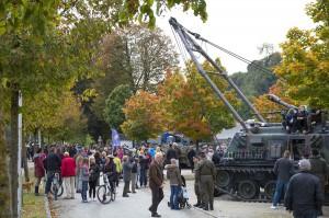 """Die Tätigkeit beim Österreichischen Bundesheer ist wieder in. Zahlreiche Besucher folgten der Einladung zu """"Bundesheer on the road"""". Foto: Bundesheer / Simader"""