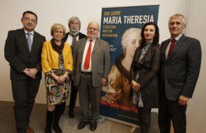 v.l.: Werner Telesko, Elfriede Iby, Georg Riha, Karl Vocelka, Monica Kurzel-Runtscheiner, Franz Sattlecker. Foto: Dieter Nagl / SKB