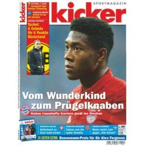 """... wurde im Laufe der Jahre zum """"kicker Sportmagazin"""". Deutsche Beständigkeit eben, seit Jahrzehnten. Beide Fotos: oepb"""