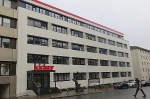 Blick auf das Olympia-Verlags-Gebäude in der Badstraße 4-6 in 90402 Nürnberg. Foto: oepb