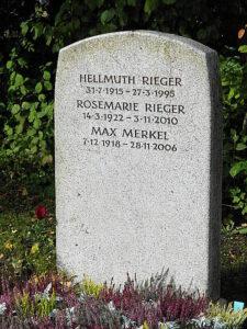 ... am dortigen Neuen Friedhof fand Max Merkel seine letzte Ruhestätte. Beide Fotos: oepb