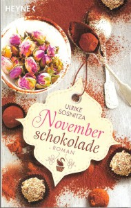 Buch Cover Novemberschokolade von Ulrike Sosnitza.