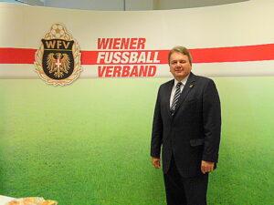 Der WFV-Präsident Robert Sedlacek freut sich auf ein spannendes und fairer 39. Verbands-Turnier. Foto: oepb