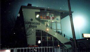 """Auch das Georg-Melches-Stadion in Essen als vormaliges """"Stadion an der Hafenstraße"""" ..."""
