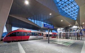 Auf dem ehemaligen Areal des Wiener Südbahnhofes entstand binnen kürzester Zeit der neue Wiener Hauptbahnhof. Ein absolut futuristisches Prestige- und Vorzeige-Projekt. Foto: ÖBB/Bönsch