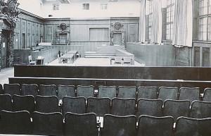 Der Saal 600 im Jahre 1945 ...