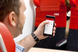 Kostenloser Info-Service via Scotty-App. Foto: ÖBB/Krischanz