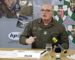 Und Oberst Emmerich Bauer stand einmal mehr für das salonfähige Bundesheer als Arbeitgeber. Foto: Vzlt Georg Simader