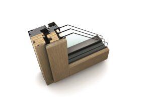 Noch bis 28.02.2017 sind alle Fenster und Türen von Internorm zum günstigeren Vorjahrespreis von 2016 erhältlich  zum Beispiel das hochwertige Holz/Aluminium-Modell HF 410. Foto: Internorm