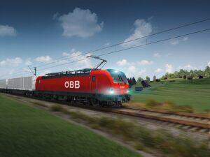 Es werden bis zu 200 neue Siemens-Vectron-Lokomotiven von den ÖBB für den Güterverkehr angeschafft. Grafik: Siemens