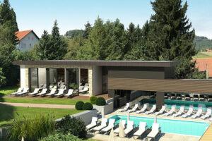 Der neue Spa- und Wellnessbereich im Vulkanlandhotel Legenstein in Bad Gleichenberg. Foto: Gerhard Trummer Einrichtungsstudio