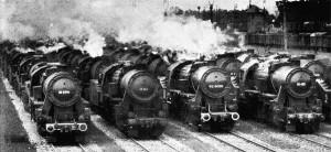 Kriegslokomotiven 1943, Baureihe 52. Foto: Willi Ruge