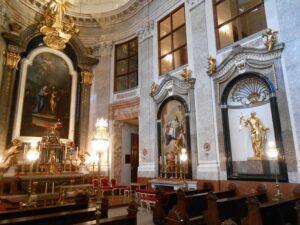 Blick in die restaurierte Schlosskapelle. Foto: Architekt DI Georg Töpfer