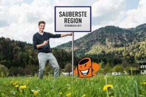 Schisprung-Star Gregor Schlierenzauer dient auch heuer wieder als Botschafter dieser Aktion. Foto: Altstoff Recycling Austria AG