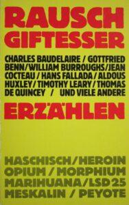 """Edward Reavis (Hg.), """"Rauschgiftesser erzählen"""", Rixdorfer Verlagsanstalt, 1981. Foto: Österreichische Nationalbibliothek"""