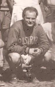 Ernst Stojaspal, 26-jährig, im Juni 1951 mit der Wiener Austria auf Brasilien-Tournee. Foto: privat/Sammlung oepb