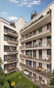 Innenhof-Blick. Foto: Bau & Boden