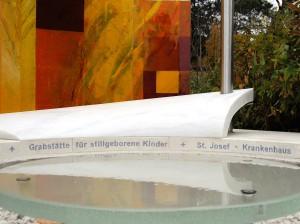 Grabstätte des St. Josef Krankenhauses, 1130 Wien, für stillgeborene Kinder am Hütteldorfer Friedhof. Foto: St. Josef Krankenhaus Wien