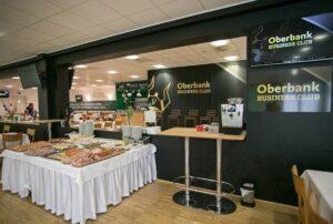 """Und so sieht er aus, der neue und schmucke """"Oberbank Business Club"""". Foto: SVR / Scharinger"""