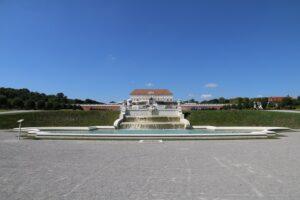Blick und Ansicht auf Schloss Hof: Foto: Stefanie Grüssl / BHÖ