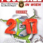 Cover FUSSBALL IN WIEN / HERBST 2017