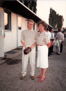 Zwischen beiden Bildern liegen 25 Jahre. Hier als Aktiver am 16. Juli 1988 anlässlich eines seiner ersten Spiele für den FK Austria Wien beim 2 : 0 gegen CSKA Sofia in Wiener Neustadt ...