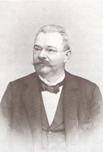 Vincenz Chiavacci (*1847, † 1916) war ein österreichischer Autor und Schriftsteller. Foto: PREISER RECORDS