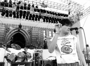 Falco im Jahre 1985 auf dem Weg zu ganz großem Ruhm. Foto: Didi Sattmann