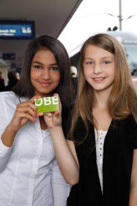 Die ÖBB Schulcard steht allen Jugendlichen unter 26 Jahren für Gruppenfahrten zur Verfügung. Foto: ÖBB