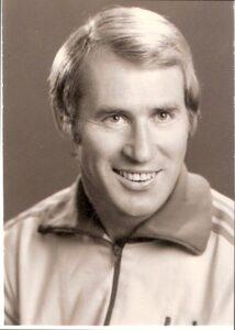 Portrait Helmut Senekowitsch, Trainer des SK VÖEST Linz, Saison 1973/74. Foto: oepb