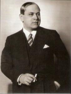 Hermann Leopoldi. 40-jährig, anno 1928 im Wien der Zwischenkriegszeit. Foto: PREISER RECORDS