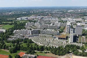 Blick auf das Olympische Dorf. Hier kam es am 5. September 1972 zur Schreckenstat. Foto: opeb