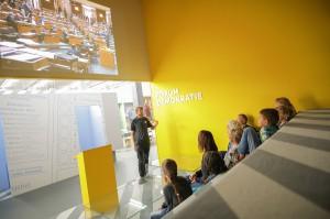 Haus der Geschichte - Forum Demokratie. Foto: Daniel Hinterramskogler
