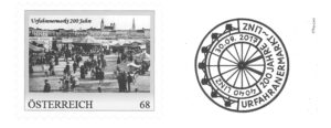 Aus Anlass des 200-Jahre-Jubiläums hat der Postwertzeichen-Sammlerring Freistadt eine personalisierte Marke aufgelegt.