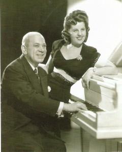 Hermann Leopoldi und Helly Möslein wieder in ihrem geliebten Wien in den 1950er Jahren. Foto: PREISER RECORDS