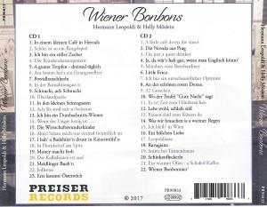 """Aus dem Inhalt der Doppel-CD """"Wiener Bonbons"""", erschienen bei PREISER RECORDS am 15. September 2017. Foto: oepb"""