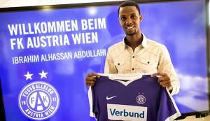 """""""Ich weiß es zu schätzen, dass ich hier eine Chance bekomme!"""", so """"Ibra"""" anhand eines Interviews. """"Veni, vidi, vici"""" kann man da nur sagen. Foto: FK Austria Wien"""