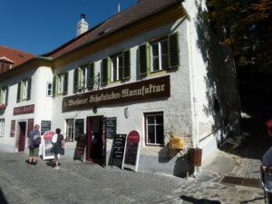 ... und die Touristen und Besucher werden neben dem Wein auch noch mit köstlichen Süßigkeiten aus der Wachau verwöhnt. Alle Fotos: oepb