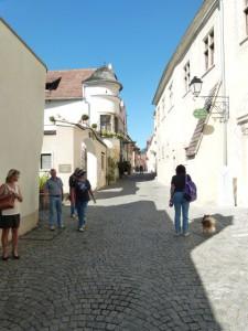 Entzückende Gasserln prägen das Bild von Dürnstein …