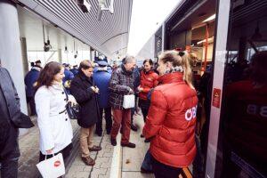 ... an der sich 200 Gäste und Bahn-Nostalgiker erfreuten. Beide Fotos: ÖBB/Marek Knopp