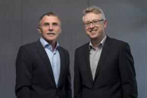 Josef Stempfer, (links) Geschäftsführer der GIG Service und Prokurist Harald Eder. Foto: GIG SERVICE GmbH