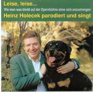 Preiser Records CD PR90357 von 1998 / Heinz Holecek parodiert und singt.