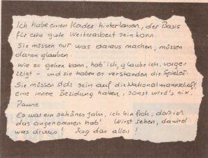 Ernst Happels Vermächtnis / KURIER Faksimile vom 16. November 1992. Sammlung: oepb