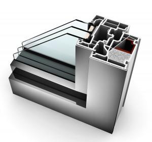 Ausgezeichnet mit dem RAL-Gütezeichen für seine Leistungswerte und besondere Qualität: Das Kunststoff- bzw. Kunststoff/Alu- Fenstersystem KF 410 von Internorm. Foto: Internorm