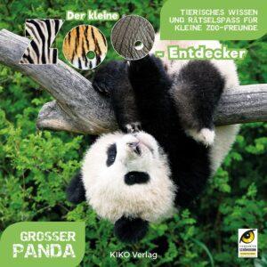 """Buchcover """"Der kleine Zoo-Entdecker. Großer Panda"""", erschienen im KIKO Verlag. Foto: Daniel Zupanc"""