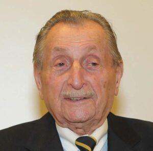 Einer der letzten Überlebenden des NS-Regimes - Marko Feingold - ist mit 104 Jahren unermüdlicher Mahner. Foto: Otto Müller Verlag