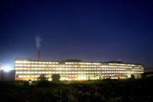Blick auf den Bau 1 der Tabakfabrik Linz. Foto: Tabakfabrik Linz