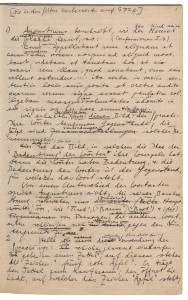 Philosophische Untersuchungen, Ludwig Wittgenstein, 1936. Foto: Österreichische Nationalbibliothek