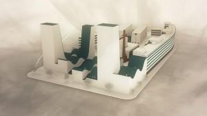 Ideen zum NeuBau 3 der Tabakfabrik Linz. Foto: recfex digital media